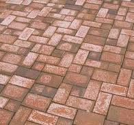 Efflorescence Brick Pavers