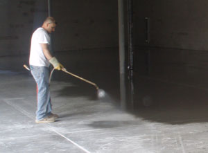 Sealing a warehouse concrete floor concrete sealing ratings for How to clean sealed concrete floors